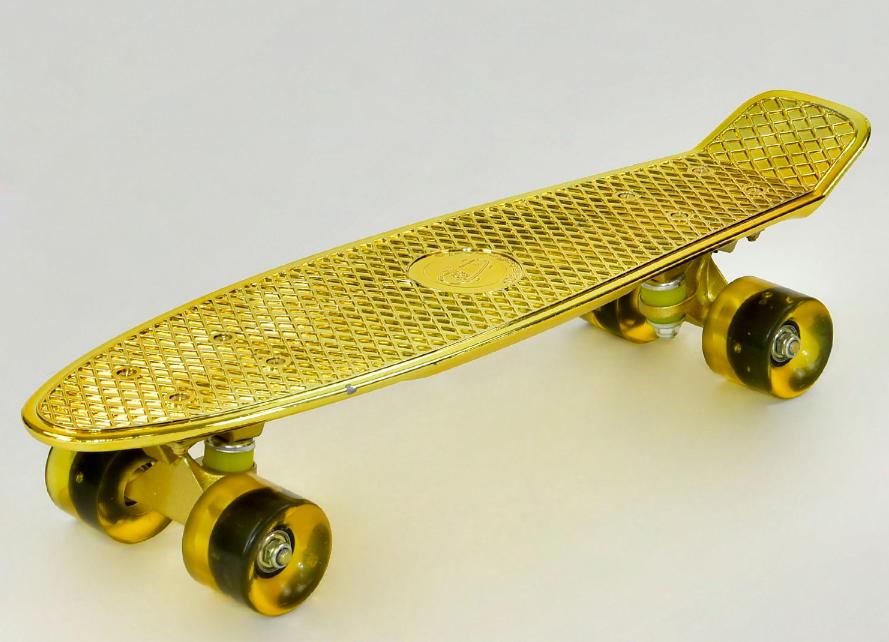 Скейт  Fish Skateboards  Пенни борд ( Penny Board)  ***