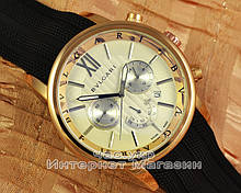 Мужские наручные часы Bvlgari Diagono Professional Chronograph Gold White реплика Кварц Булгари
