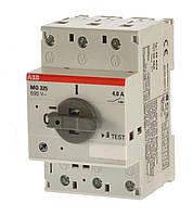 Автомат защиты двигателя ABB MO325-6,3, 1SAM160000R1009