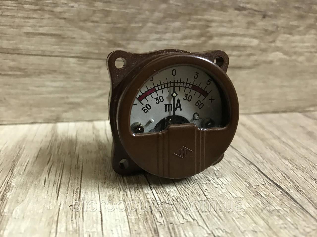 Измерительная  головка   60-0-60 мА.
