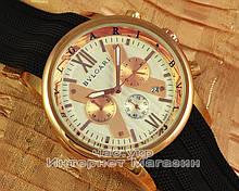 Мужские наручные часы Bvlgari Diagono Professional Chronograph Gold White реплика Кварцевые хронограф Булгари