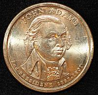 Монета США 1 доллар 2007 г. Джон Адамс - 2, фото 1