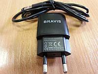 Зарядное устройство для Bravis(планшет,смартфон)  2.1A +кабель