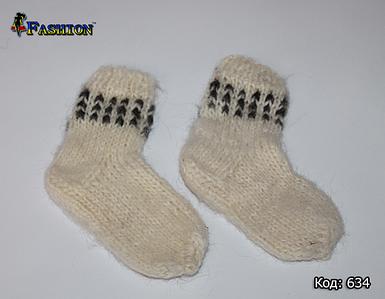 Дитячі вовняні шкарпетки Зимові дні