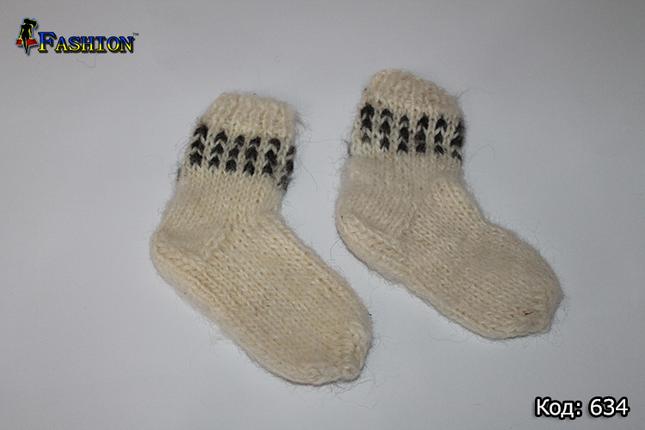 Дитячі вовняні шкарпетки Зимові дні, фото 2