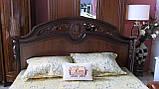 Кровать  Беатриче CF 8053 1600*2000 орех итальянский, фото 3