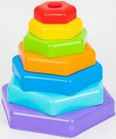 Тигрес.  Пирамидка-радуга (393633)