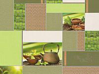 Обои, на кухню цвет (зелёный) винил, B49.4 Мятный 5596-04, супер-мойка, 0,53*10м