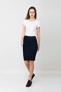 Модная юбка карандаш синяя NVY R Urban Planet (юбочка, юбки, жіноча юбка, женский одежда, одяг)