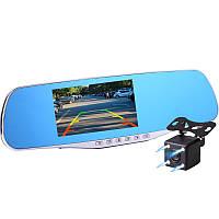 Зеркало-видеорегистратор ЕА550 3в1 экран 4,3 дюймов + Видео парковка.