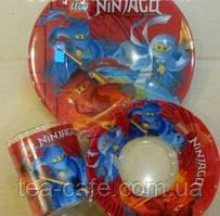 Набор детской посуды Ninjago (стекло)