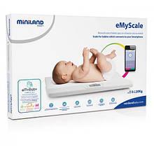 Детские смарт-весы Miniland Baby eMyScale