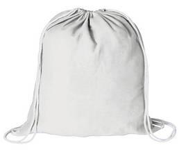 Рюкзак белый для сублимации, габардин