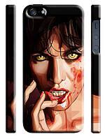 Чехол  на айфон 5/5s zombie девушка
