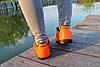 Мужские футзалки - сороконожки оранжевые 40-46р, фото 2