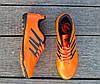 Мужские футзалки - сороконожки оранжевые 40-46р, фото 4