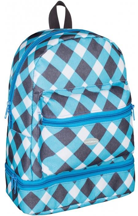 Детский рюкзак Сool For School Blocks, CF86083, голубой