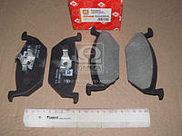 Колодки тормозные дисковые SKODA FABIA, OCTAVIA, VW GOLF 98- передние