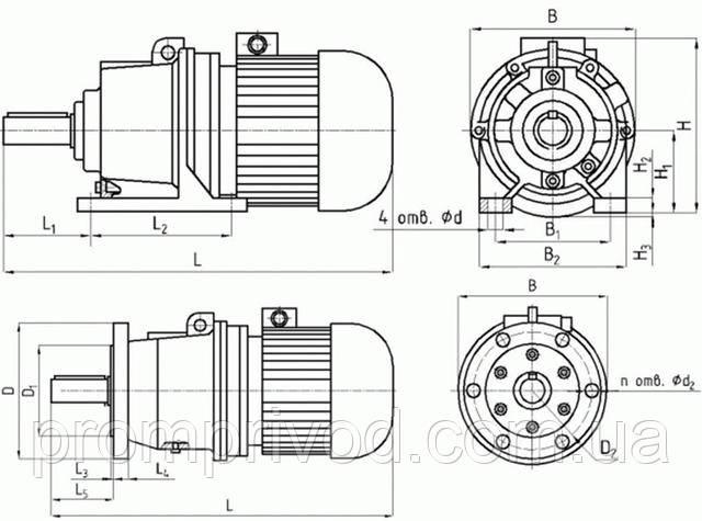 Мотор-редуктор 4МП купить