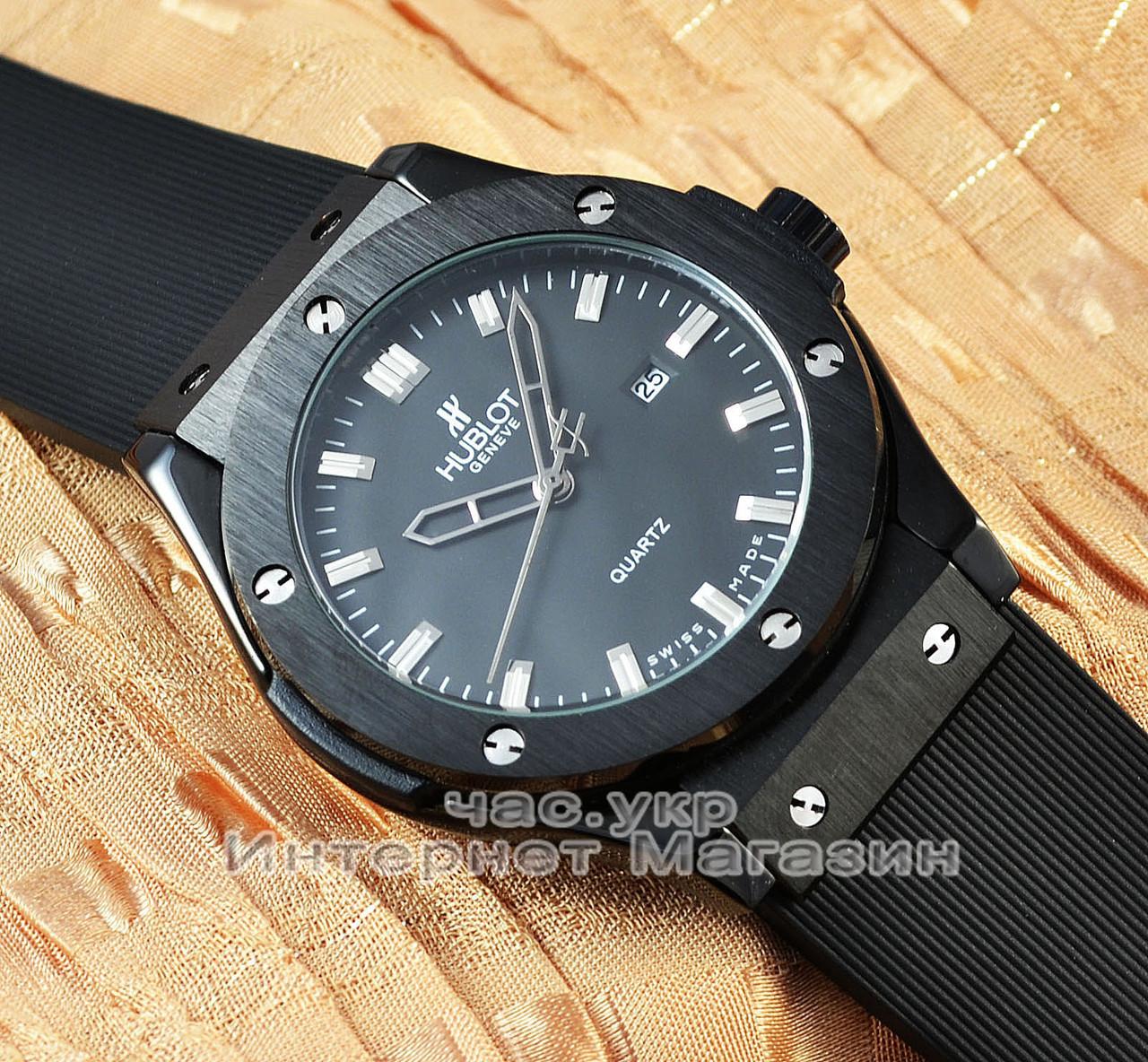 Часы Hublot Classic Fusion Black Magic реплика унисекс кварцевые качество  женские мужские 83474ee8766