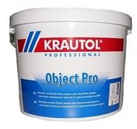Интерьерная краска акриловая водно-дисперсионная Krautol Object Pro (2,5л)