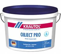 Краска интерьерная акриловая водно-дисперсионная Krautol Object Pro (18л)