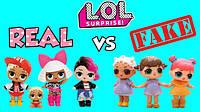 L.O.L. Как отличить оригинал от подделки.