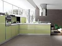 кухня салатовый акрил фото 2