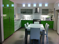 кухни зеленый акрил фото 3