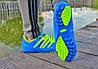 Мужские футзалки - сороконожки голубые 40-46р, фото 3