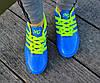 Мужские футзалки - сороконожки голубые 40-46р, фото 4