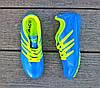 Мужские футзалки - сороконожки голубые 40-46р, фото 5