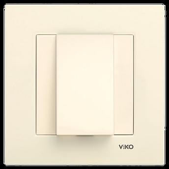 Заглушка для виведення кабелю VIKO Karre Крем, фото 2