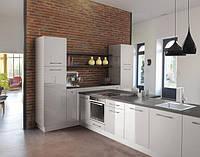 кухня белый акрил фото 7