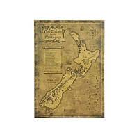 Декор: Новая Зеландия - таинственная карта, фото 1