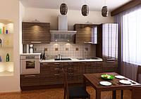кухня акриловая зебрано фото 13