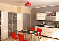 кухни из акрила ваниль фото 14