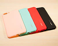 TPU чехол накладка Smitt для IPhone 7 Plus (4 Цвета), фото 1