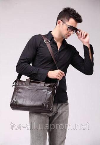 Фото мужской сумки на плечо