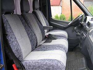 Перетяжка автомобильного сиденья тканью , фото 2