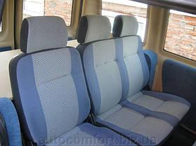 Перетяжка автомобильного сиденья тканью , фото 3