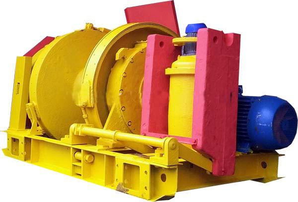 Лебедка шахтная монтажная ЛМТ-150