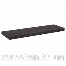 Полка 16мм ДСП чёрная 1000*200