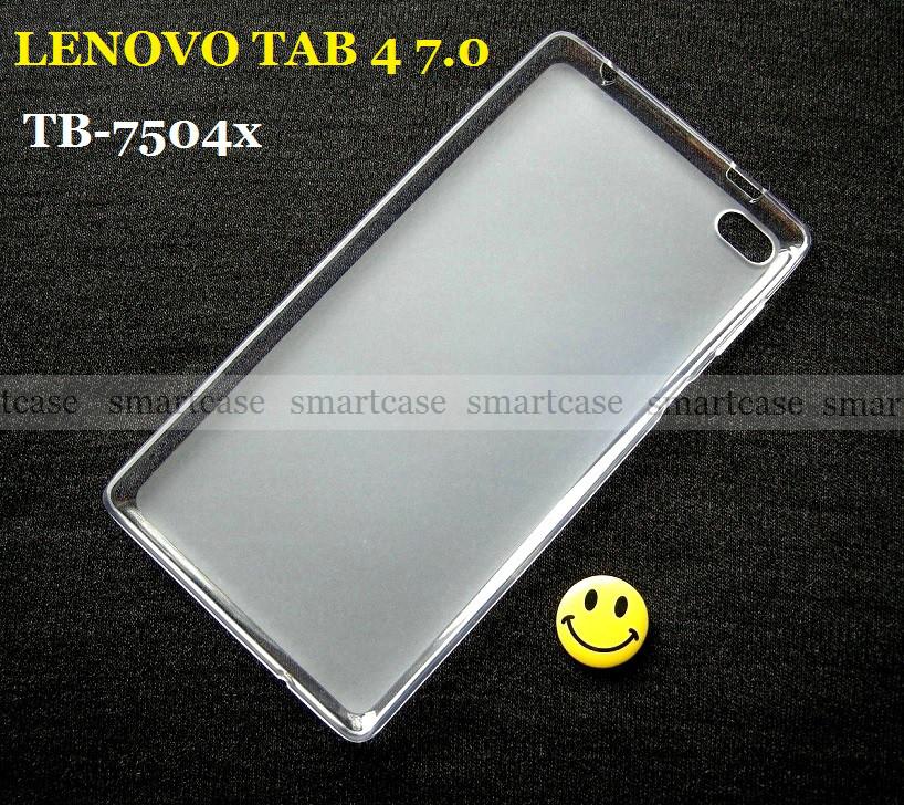 Противоударный силиконовый бампер чехол Lenovo Tab 4 7.0 tb 7504X эластичный