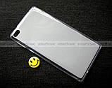 Противоударный силиконовый бампер чехол Lenovo Tab 4 7.0 tb 7504X эластичный, фото 2