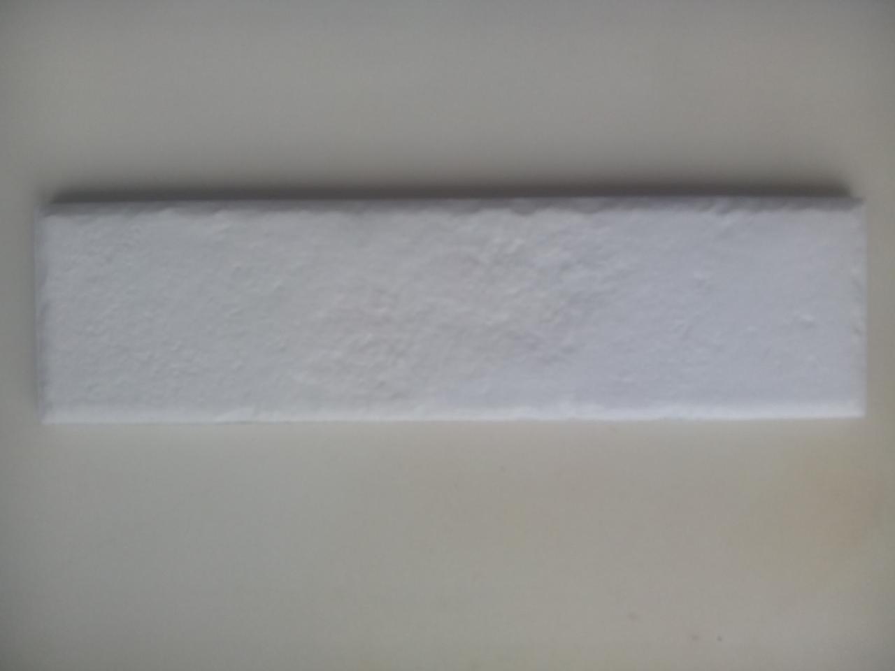 Клинкерная фасадная плитка Paradyz Scandiano Bianco 245х66х7,4