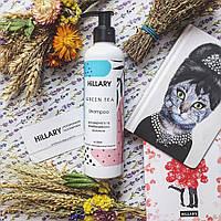Натуральный шампунь для жирных и комбинированных волос Hillary  GREEN TEA
