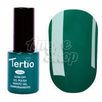 Гель-лак Tertio №023 (лиственный зеленый, эмаль), 10 мл