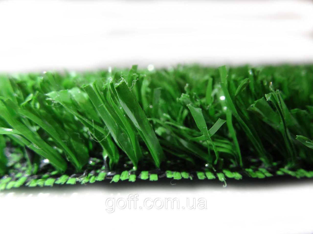 Искусственный газон для дачи 15мм