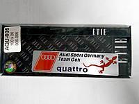 Надпись QUATTRO металл  100х26 мм